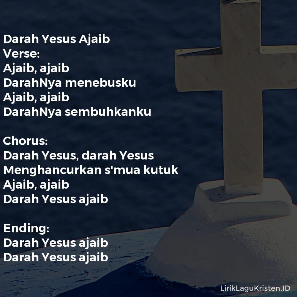 Darah Yesus Ajaib