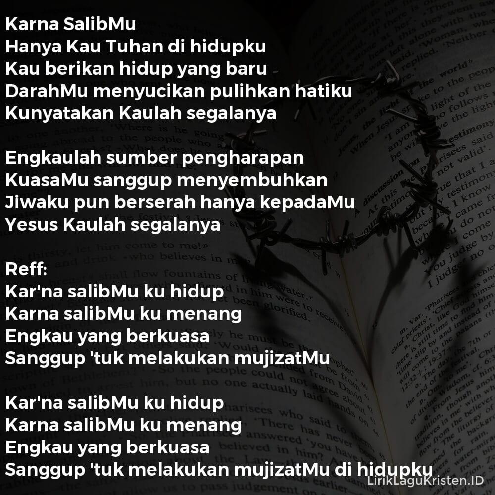 Karena SalibMu