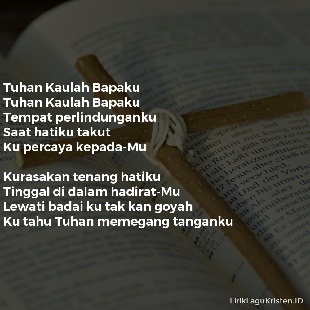 Tuhan Kaulah Bapaku