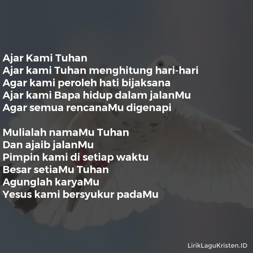 Ajar Kami Tuhan