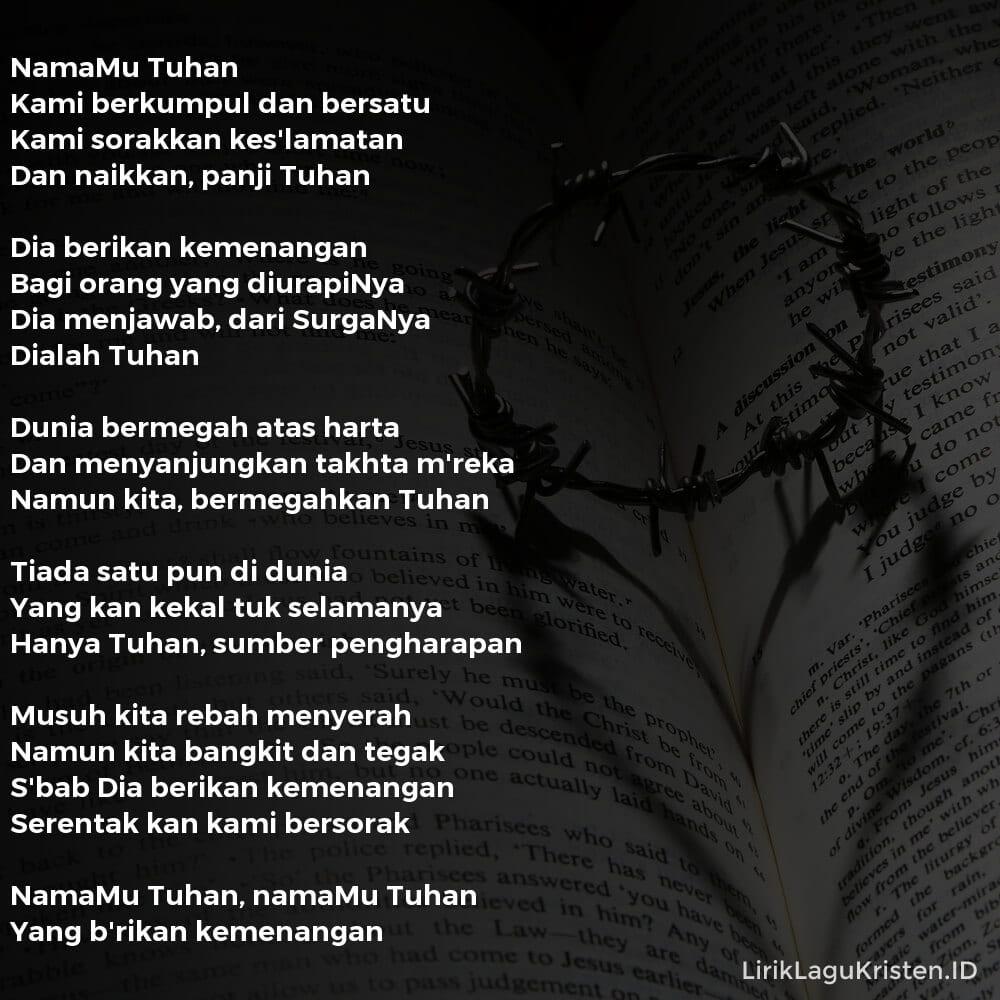 NamaMu Tuhan