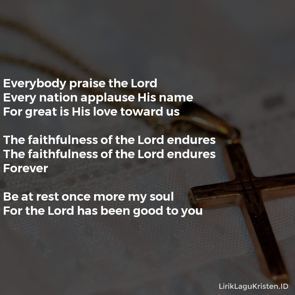 Stand To Praise (Psalm 117)